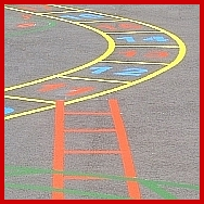 Playground Snakes and Ladders Marking