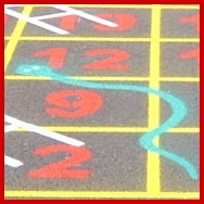 Snakes and Ladders Board Marking
